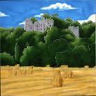 Dunster Castle 12x12