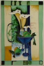 Art Deco Lily 8x12