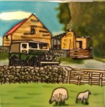 Vintage Farm 8x8