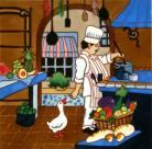 French Kitchen 12x12