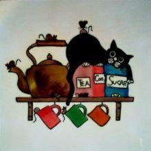 Kitchen Cat 8x8