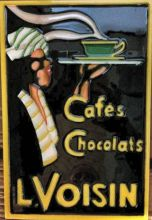 Cafe Chocolats 8x12