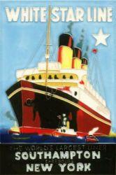 White Star Line 8x12