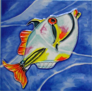 Picasso Fish 6x6