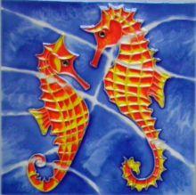 Seahorses 6x6