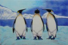 Penguin Trio 8x12