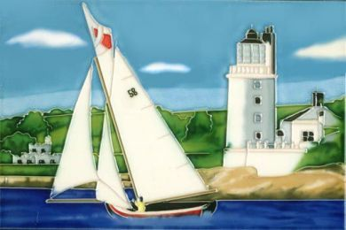Falmouth Working Boat 8x12