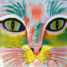 Abstract Cat 8x8
