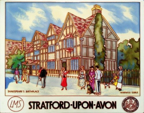 Stratford-Upon-Avon  11x14